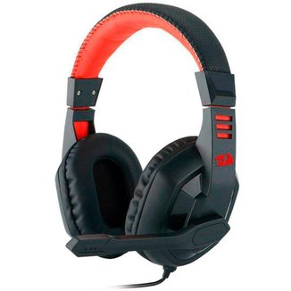 Headset Gamer Redragon Ares H120 - Com Microfone - Conector P2 - Preto