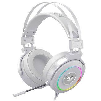 Headset Gamer Redragon Lamia 2 H320W-RGB - Surround 7.1 - Microfone - RGB Chroma - com Suporte - USB