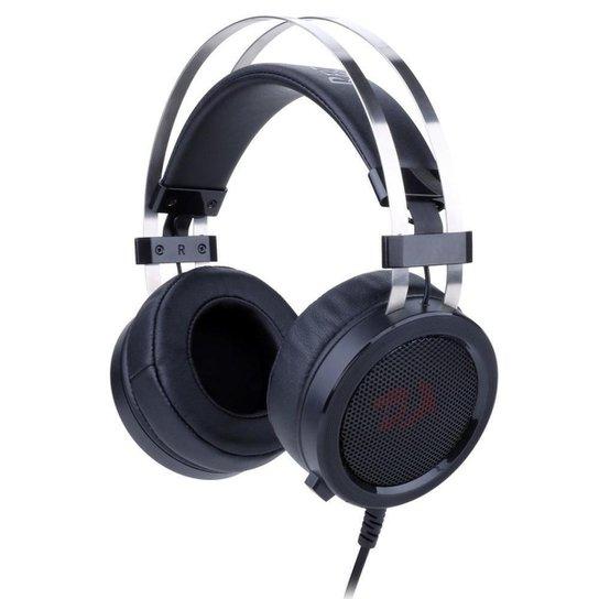 Headset Gamer Redragon Scylla Preto - Preto