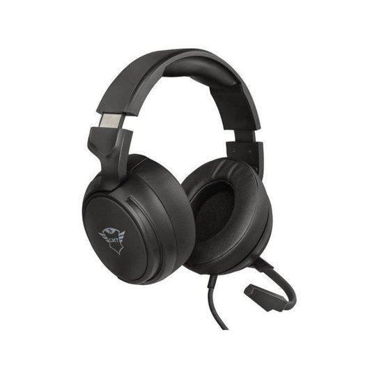 Headset Gamer Trust 2.0 GXT 433 Pylo - Preto