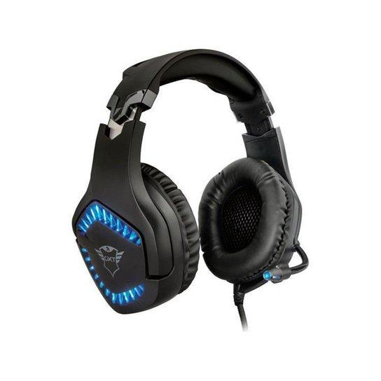Headset Gamer Trust GXT 460 Varzz - Preto
