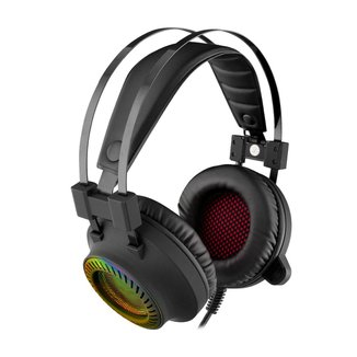 Headset Gamer USB 7.1 Surround Fone Com LED Bright