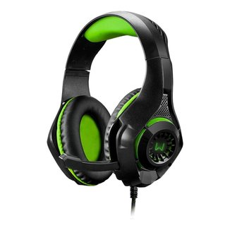 Headset Gamer Warrior Rama P3+USB Stereo Adaptador P2 LED