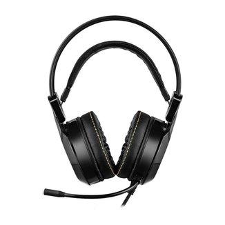 Headset Gamer Warrior Thyra USB 7.1 Digital Surround Sound Vibração LED RGB