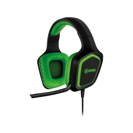 Headset Gamer XZONE GHS-02 para PC Xbox PS4 Smartphone - Preto+verde