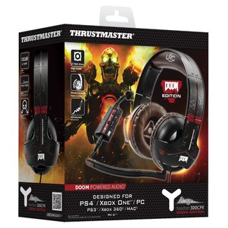 Headset Gaming Thrustmaster Y300cpx Doom Edition - Pc/Ps4/Xbox One/ X360/Mac