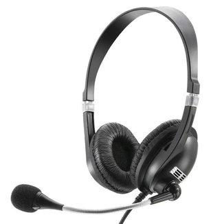 Headset Multilaser Premium Acoustic Microfone Plug Estéreo PH041