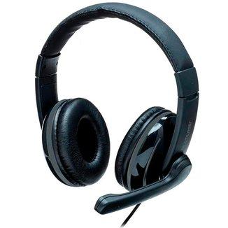 Headset Multilaser PRO PH316 - Microfone - Conector P2 / P3 - Preto