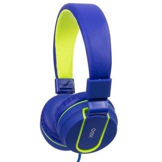 Headset OEX Fluor HS107 - Azul