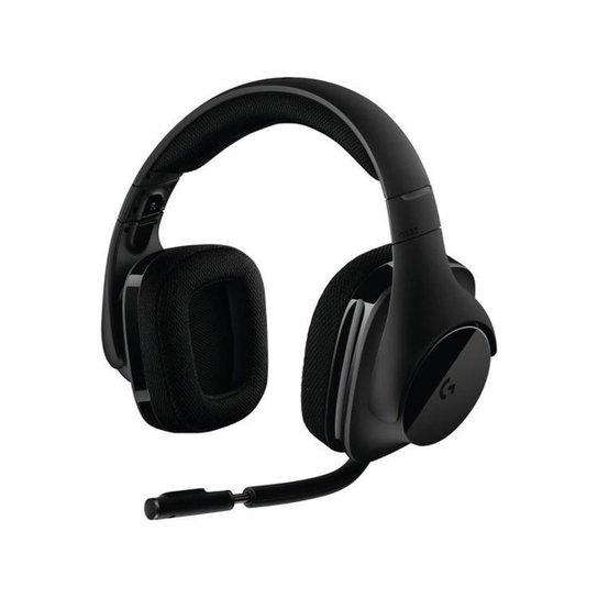 Headset para PC Logitech - G533 Wireless - Preto