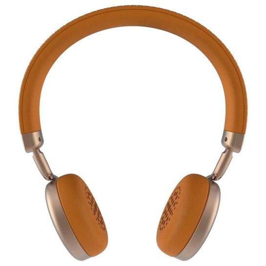 Headset sem Fio Intelbras Focus Style - Bluetooth - Microfone - Gold - 4010012 - Azul