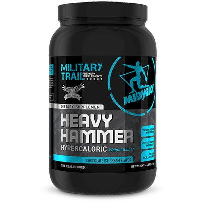 Heavy Hammer Military Trail Protein Hipercalórico 1,8 kg - Midway USA