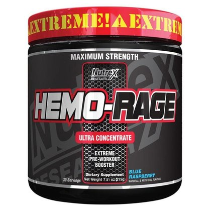 Hemo Rage Black Ultra Concentrado 30 Doses - Nutrex