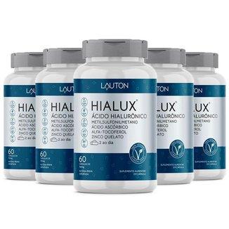 Hialux Ácido Hialurônico - 5 un de 60 Cápsulas - Lauton