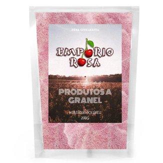 Hibiscus Solúvel Empório Rosa Granel 200g