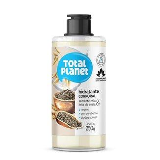 Hidratante Corporal Total Planet - Semente de Chia Leite de Aveia