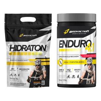 Hidraton Isotônico Endurance 1kg + Enduro 4:1 - Body Action