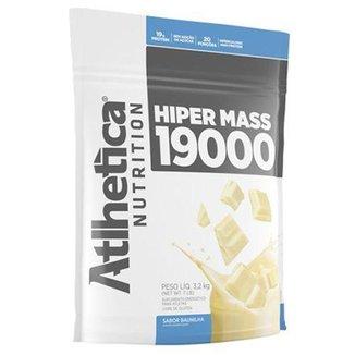 Hiper Mass 19000 Refil - 3200g Baunilha - Atlhetica Nutrition