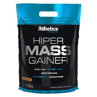Hiper Mass Gainer Pro Series 3kg Refil Atlhetica
