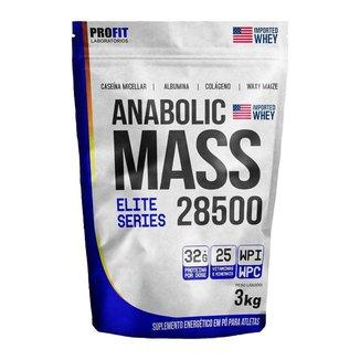 Hipercalórico Anabolic Mass 28500 Profit Laboratório 3KG