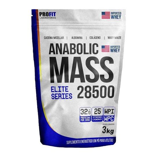 Hipercalórico Anabolic Mass 28500 Profit Laboratório 3KG -