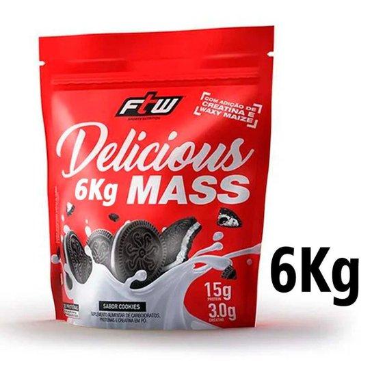Hipercalórico Delicious Mass 6Kg - FTW -