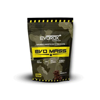 Hipercalórico Evo Mass 1,6kg - Evorox Nutrition