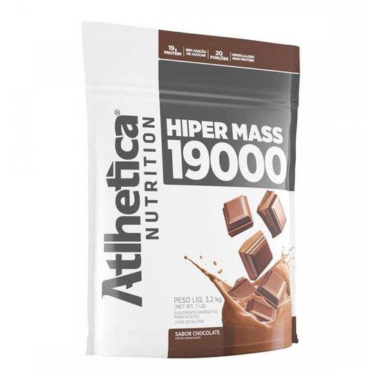 Hipercalórico Hiper Mass 19000 3,2Kg - Atlhetica Nutrition -