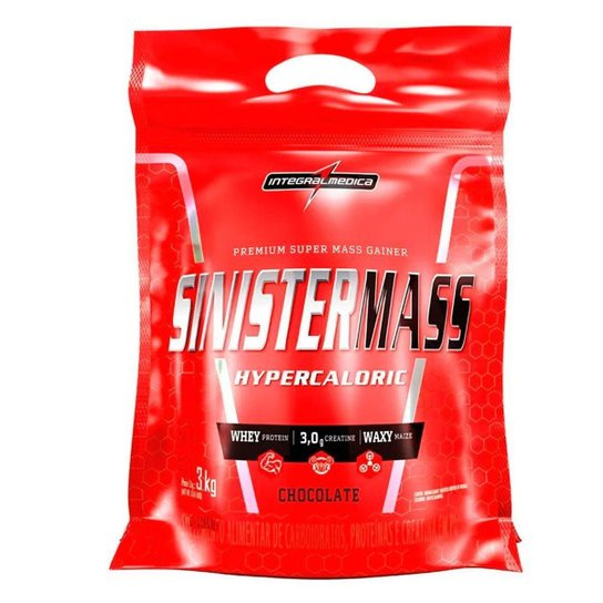 Hipercalório Sinister Mass Refil 3Kg - Integralmedica -