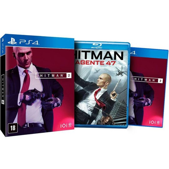 Hitman 2 Ed. Limitada - Ps4 - Incolor