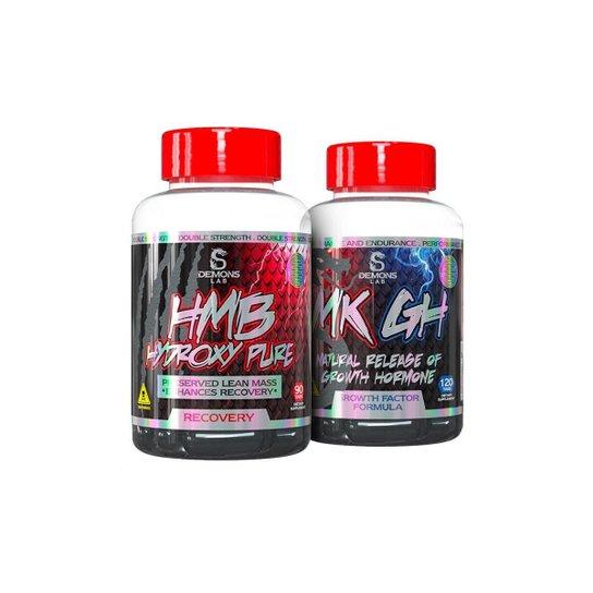 Hmb Hydroxy Pure (90 Tabs) + Mk Gh (120 Tabs) - Demons Lab -