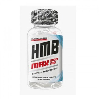 Hmb Max 1000Mg (60 Tabs) - Clone Pharma