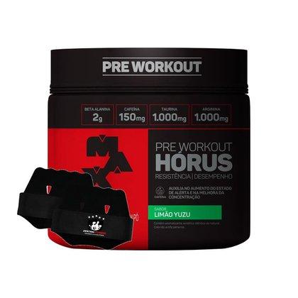 Horus 300g Pre Workout + Luva - Max Titanium