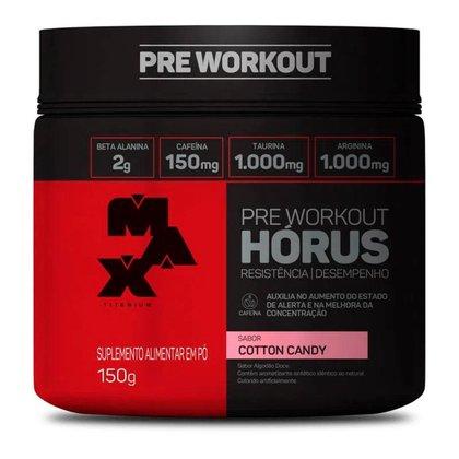 Horus Pre-workout 150g Cotton Candy (Algodao Doce) Max Titanium