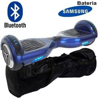 Hoverboard Skate Elétrico 6,5 Polegadas Off Road Rally Bluetooth Bivolt Até 100 kg Importway