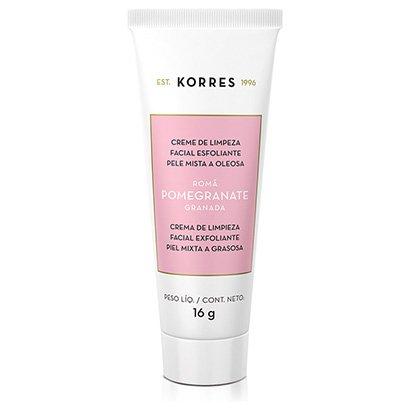 Creme de Limpeza Facial e Esfoliante Korres Romã 16g