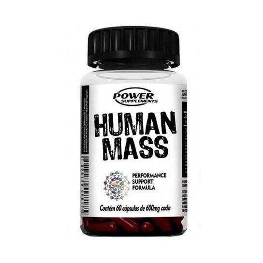 Human Mass 60 cápsulas - Power Supplements -
