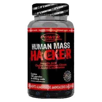 HUMAN MASS HACKER 120 CAPSULAS - POWER SUPPLEMENTS (SEM SABOR)