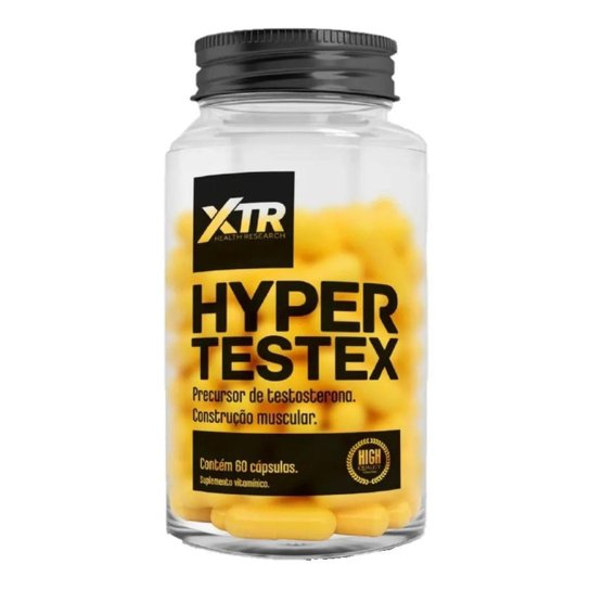HYPER TESTEX 60 CAPS - XTR - Incolor