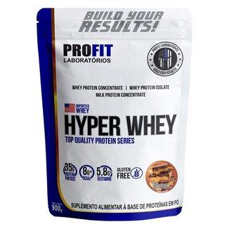 Hyper Whey Refil 900g - Chocolate Com Pasta De Amendoim - Profit