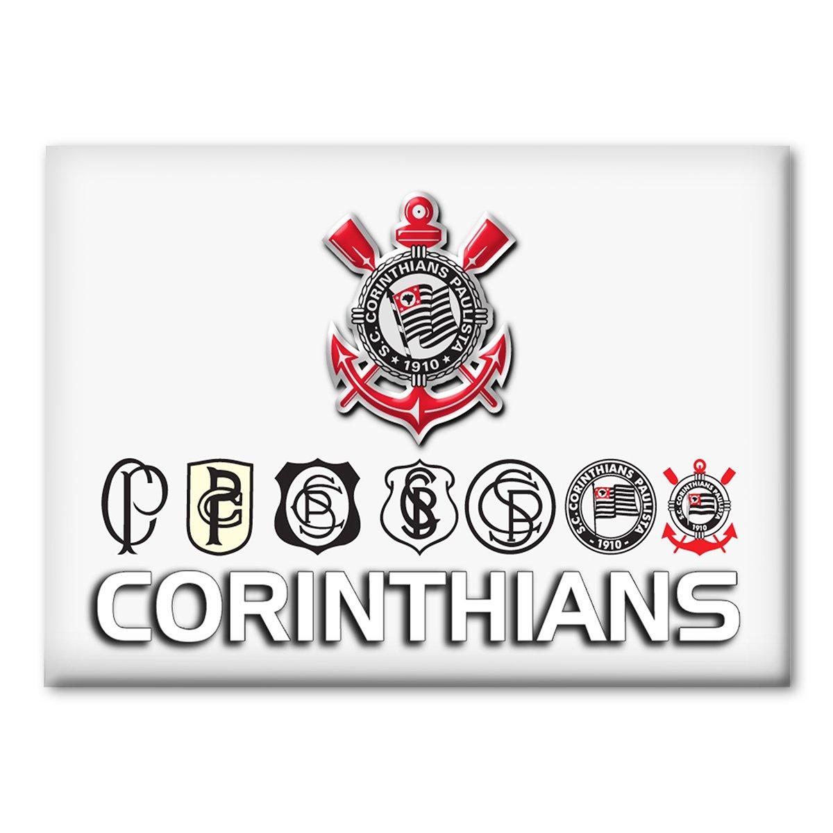 2d979c5a2a Imã Corinthians Evolução Escudos - Compre Agora