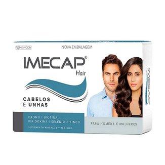 Imecap Hair C/30 Original Vitamina Para Cabelo Tratamento
