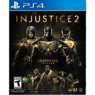 Injustice 2 Legendary Edition - Ps4