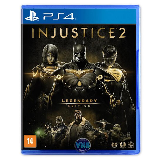 Injustice 2 Legendary Edition - Ps4 - Incolor