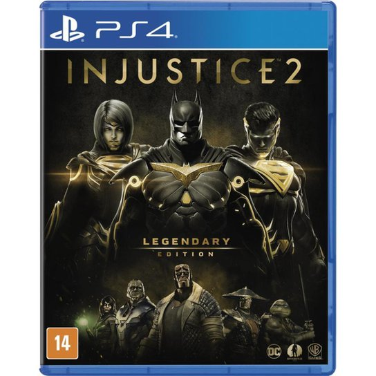 Injustice 2: Legendary Edition - Ps4 - Incolor