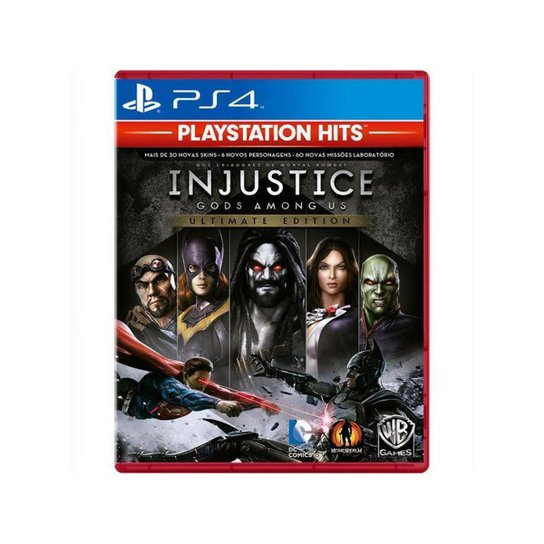 Injustice Gods Among Us Ultimate Edition para PS4 - Azul