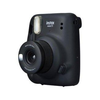 Instax Mini 11 Fujifilm Grafite Flash Automático