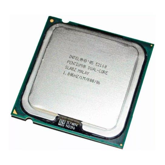 Intel® Pentium® E2160 - LGA 775 - 1.80GHz cache 1MB - Tray sem cooler - Única