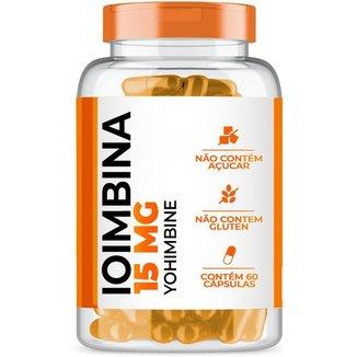 Ioimbina (Yohimbine) 15mg com 60 cápsulas