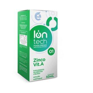 Iontech 1 - Zinco + Vit A (Manutenção da saúde intestinal e auxílio no controle da diabetes) - Ekobé